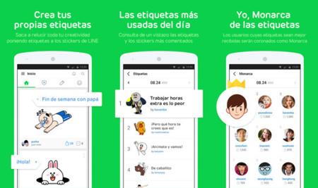 LINE Stickers para Android, su nueva aplicación social para