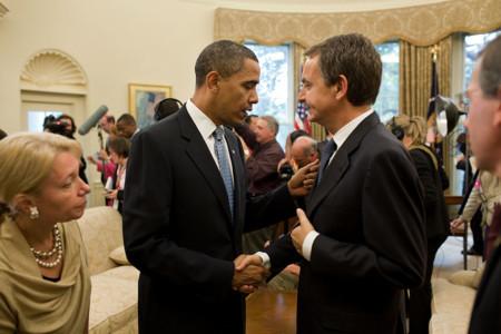 Obama y Zapatero en 2009