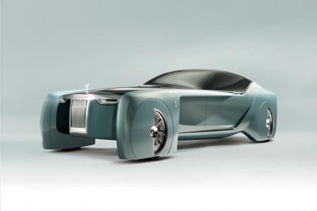 Rolls-Royce Vision Next 100 concept, un futurista coche autónomo y eléctrico con sabor retro