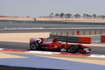 Fernando Alonso saldrá tercero en el GP de Bahréin por detrás de Felipe Massa