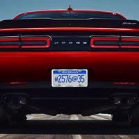 El Dodge Challenger SRT Demon es un dragster monoplaza con matrícula