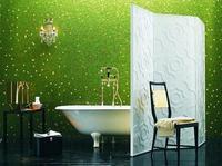 Una buena idea: usar un biombo en el baño