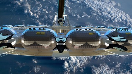 ¿Un hotel en órbita alrededor de la Tierra con gravedad artificial para el año 2025?