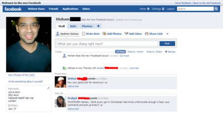 Facebook en 2008