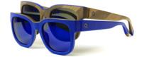 Etnia Barcelona es color y lanza tres nuevos modelos de gafas azul Klein