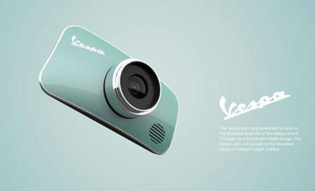 ¿Quién no querría una cámara de fotos inspirada en la clásica Vespa?