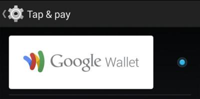 Google Wallet quitará la opción de tocar y pagar en los dispositivos que no tengan Android 4.4