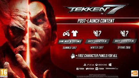 Tekken 7 tendrá dos personajes invitados