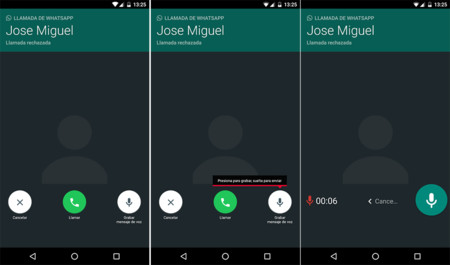 Whatsapp Mensaje Voz Llamadas