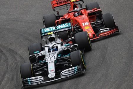 Bottas Leclerc Monza F1 2019