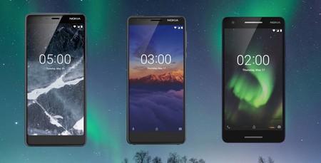 Es oficial: los Nokia 2.1, Nokia 3.1 y Nokia 5.1 llegan a México de la mano de Telcel, estos son sus precios