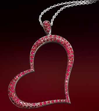 Colgante exclusivo de Piaget para San Valentín