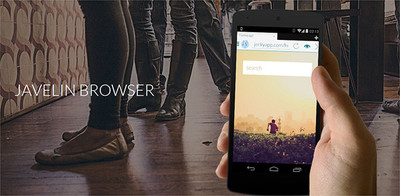 Javelin Browser, el primer navegador en Android que bloquea ads nativamente