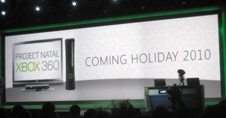 Project Natal llegará para navidades del 2010, Ballmer lo confirma