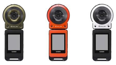Casio separa la cámara y la pantalla en su EXILIM EX-FR10