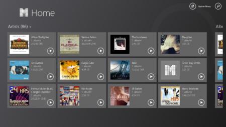 Los mejores reproductores de música en Windows 8: gMusicW, a fondo