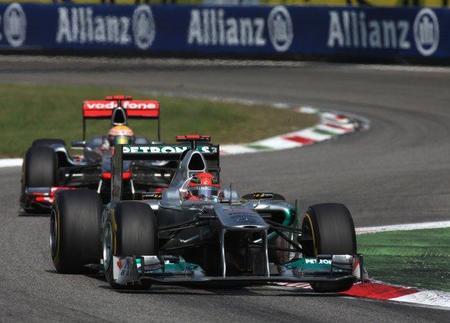 Los comisarios se perdieron las maniobras de Michael Schumacher en el Gran Premio de Italia