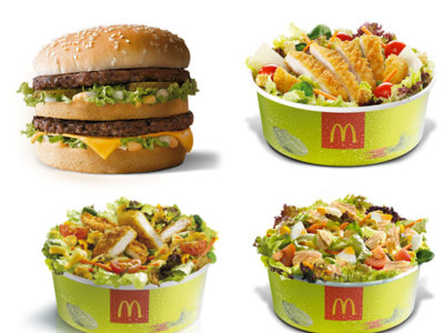 "Pedirse una ensalada en McDonalds no es tan ""light"" como te piensas"