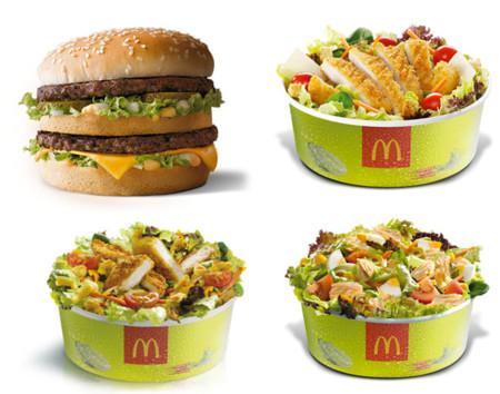 """Pedirse una ensalada en McDonalds no es tan """"light"""" como te piensas"""
