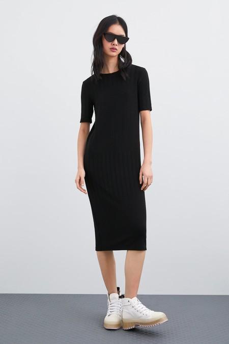 Vestido Negro Zara 8