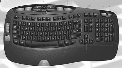 Cordless Desktop Wave, teclado para Vista