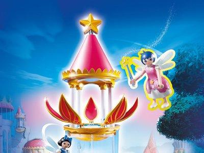 Torre Flor Mágica con caja musical y Twinkle de Playmobil por 25,99 euros