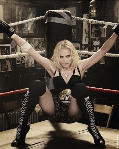 Madonna, cual diablo, provocando a los polacos