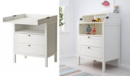 Cambiador Comoda Sundvik Ikea