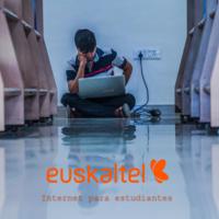 Euskaltel ya tiene oferta de internet para estudiantes: dos velocidades, sin permanencia  y TV disponible