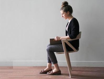 ¿Buena o mala idea? Una silla de dos patas