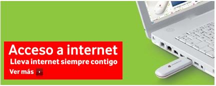 Nuevos bonos prepago para internet desde ordenador con Vodafone