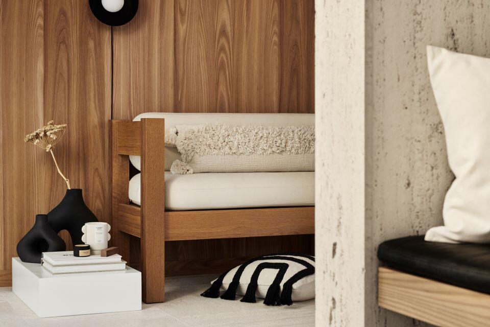 Almohadas chic, preciosos jarrones, accesorios… descubre los artículos clave de primavera de H&M Home