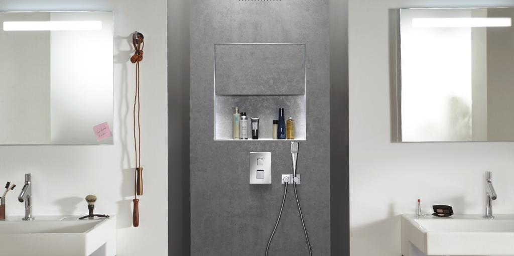 Ecrin, una ducha empotrada lista para instalar de forma rápida y fácil (y sin obra)