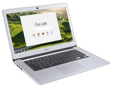 Los nuevos Acer Chromebook 14 presumen de 14 horas de batería y hasta 4 GB de RAM