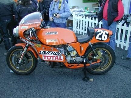 Laverda 1000 V6, otra leyenda italiana