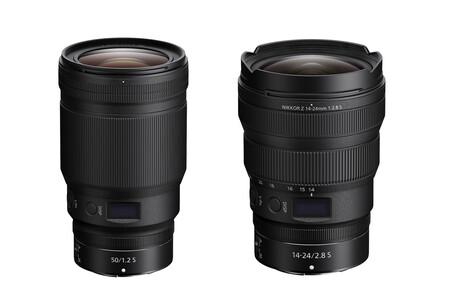 Nikon expande su familia de objetivos para monturas Z con los nuevos Nikkor Z 14-24mm F2.8 y 50mm F1.2 S