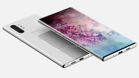 Samsung Galaxy Note 10 Pro Render