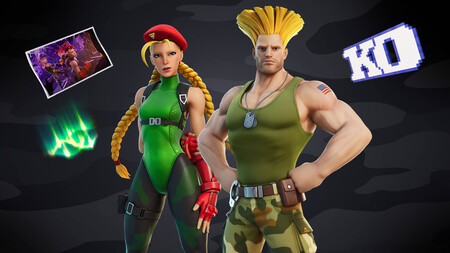 Street Fighter se une a la batalla: Fortnite recibirá a Cammy y Guile, los míticos personajes de la saga de lucha de Capcom