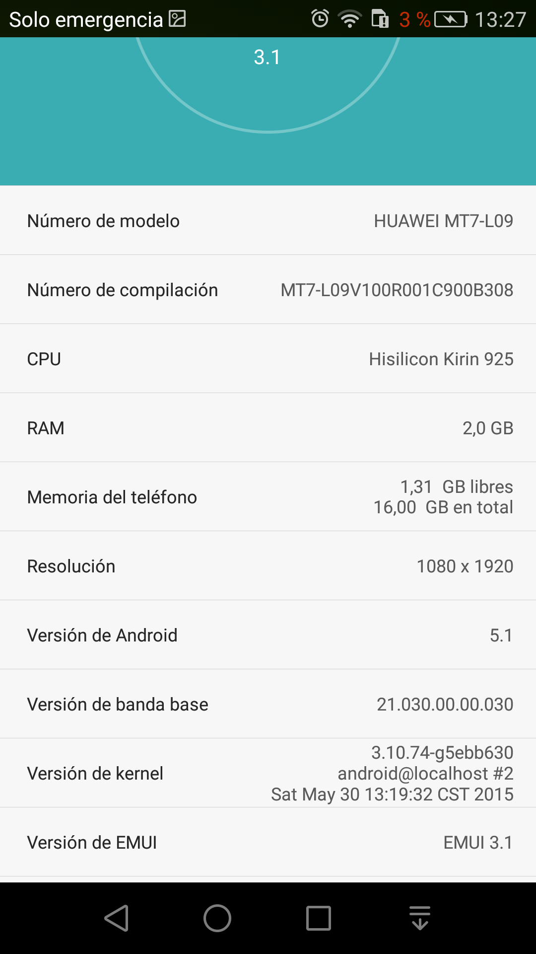 Foto de Android 5.1 para Huawei Ascend Mate 7 (10/14)