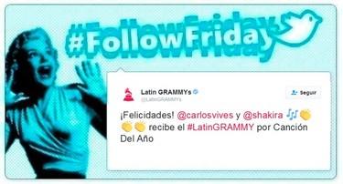 #FollowFriday de Poprosa: del fiestón de los Prix de la Moda de Marie Claire a las pinceladas de los Premmios Grammy Latinos