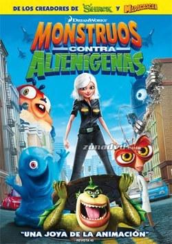 monstruos contra alienigenas dvd