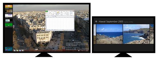 Windows 8 con doble monitor