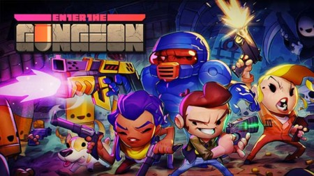 El espectáculo de Enter the Gungeon ya se encuentra disponible en Steam y PS4