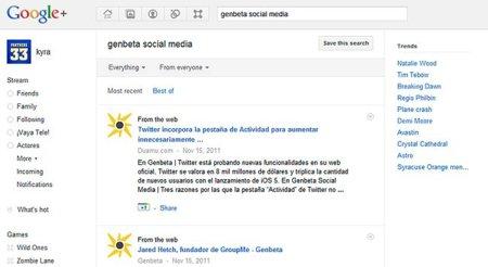 "Trends, los ""trending topics"" de Google+"