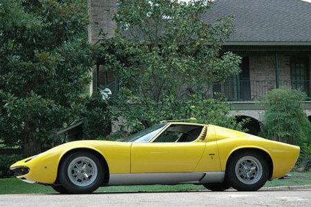 1969 Lamborghini Miura P400 Coupe