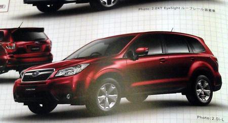 Filtrado el aspecto del nuevo Subaru Forester