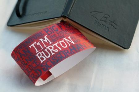 Moleskine de Tim Burton y el MoMa