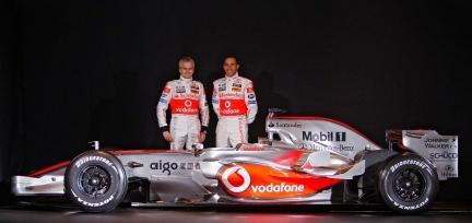 Presentación del McLaren MP4-23