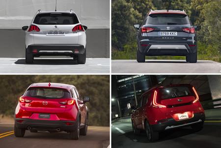 Kia Soul Vs Peugeot 2008 Vs Mazda Cx 3 Vs Seat Arona 2