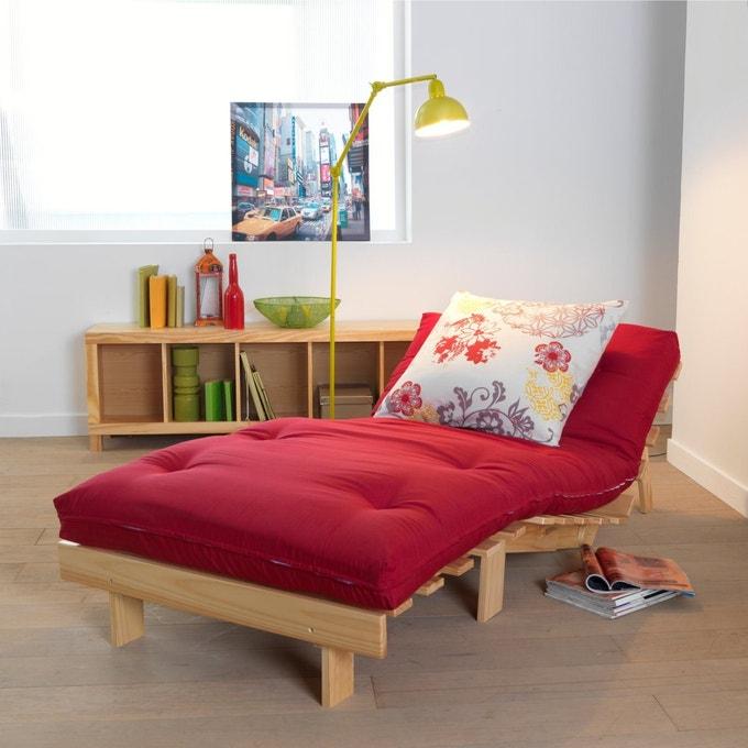 Sofá cama futón, 4 posiciones THAÏ